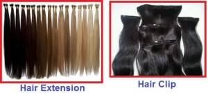 hair extension dan hair clip