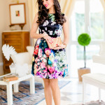 HOW TO WEAR YOUR FLORAL DRESS