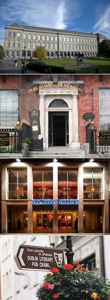 Atraksi sastra di Dublin Irlandia