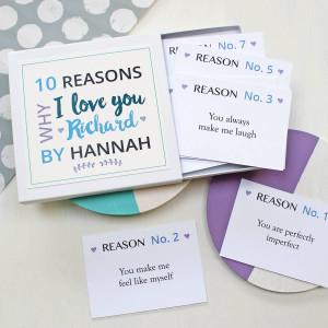 Kartu reasons why I love you