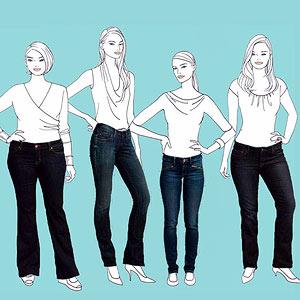 Memilih jelana jeans yang tepat