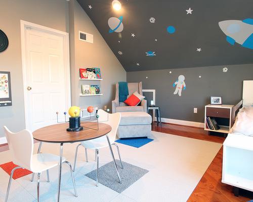 Kamar bertema luar angkasa