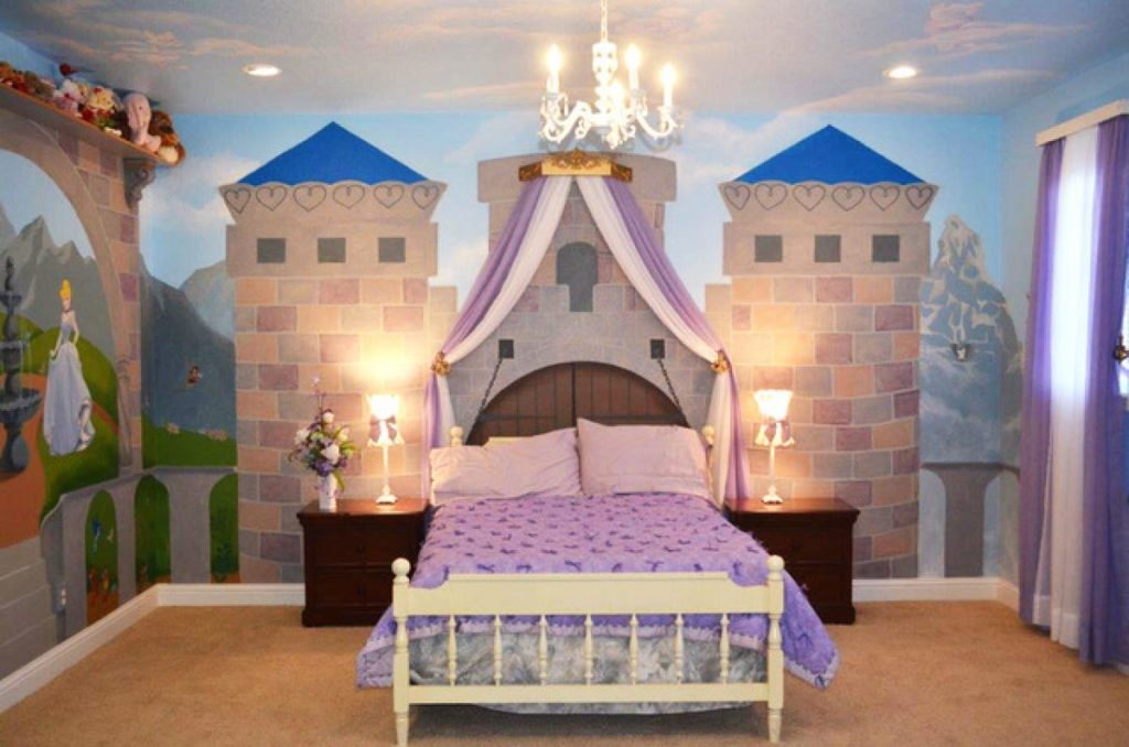Kamar princess anak