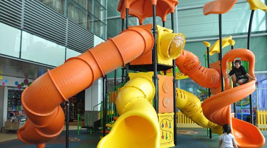 Area bermain anak bandara Changi