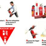 Begini Cara Menggunakan Alat Pemadam Kebakaran