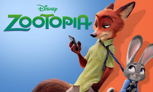 Film Animasi, Zootopia