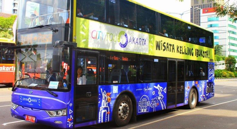 Jalan-jalan gratis Bus City Tour Jakarta