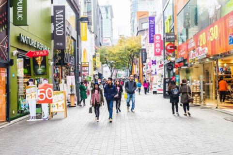 Myeongdong, Korea Selatan