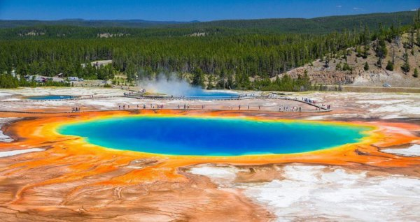 Grand Prismatic Spring, AS