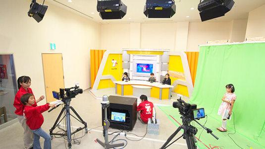 salah satu kegiatan di establisment Studio TV