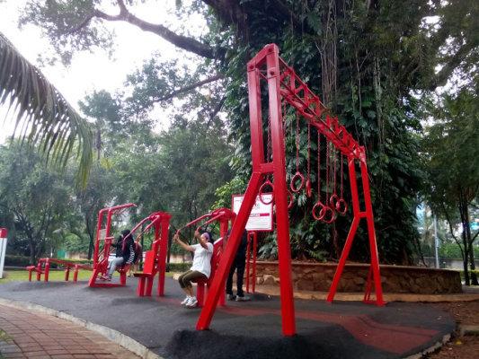Fasilitas Olahraga Taman Ayodya