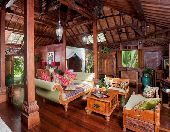 Ruangan Bernuansa Jawa